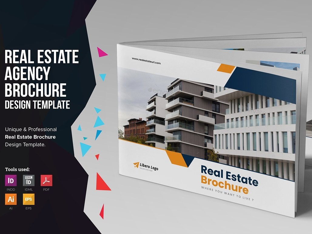 real estate brochure by brochure design dribbble dribbble