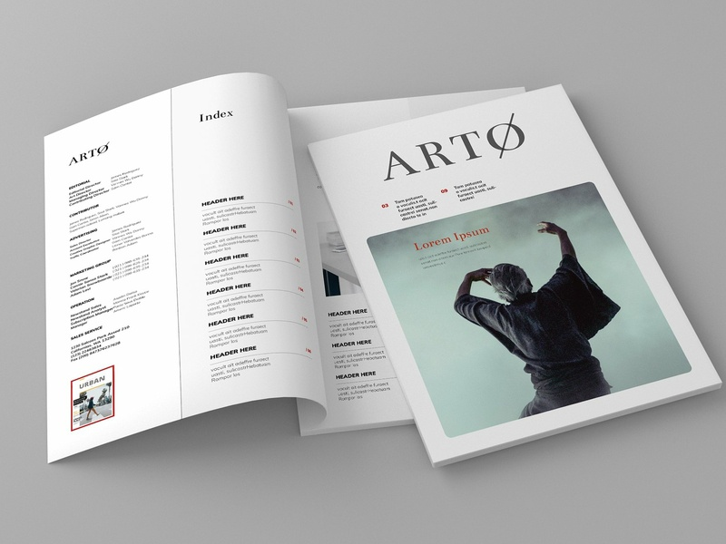 Magazine Template Vol. 12 clothing feminine catalog fashion proposal studio design lookbook clean editorial catalogue indesign elegant business modern portfolio magazine branding brochure template