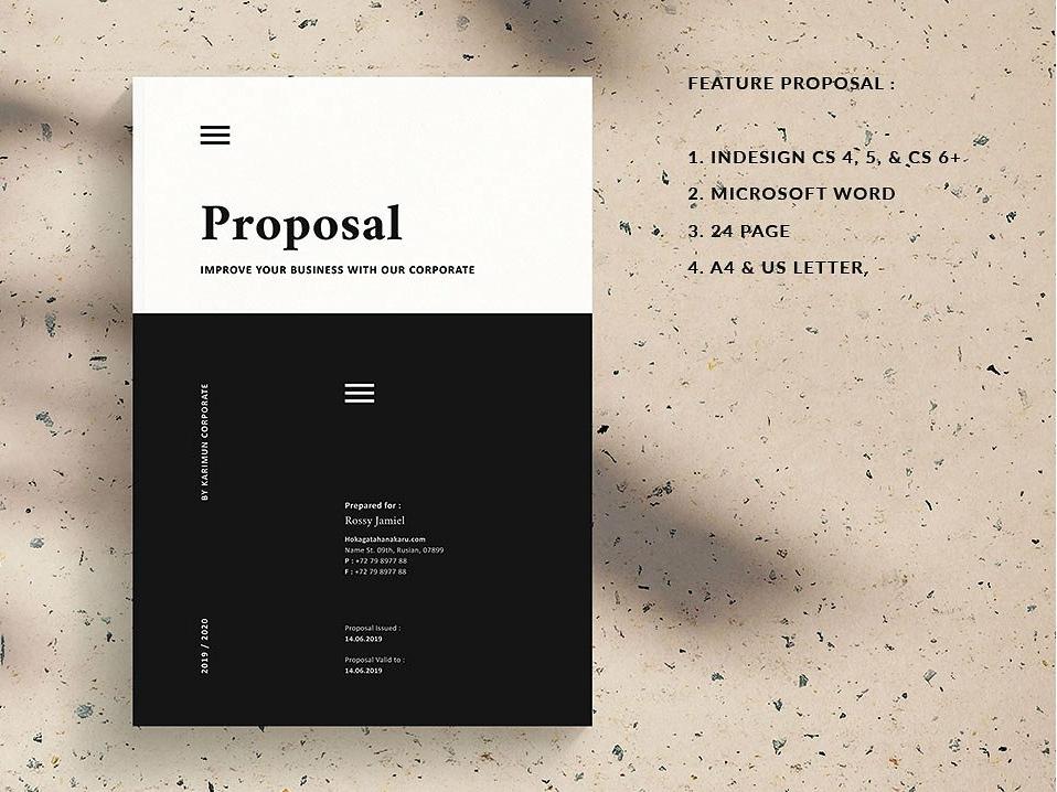 Proposal clothing feminine catalog fashion proposal studio design lookbook clean editorial catalogue indesign elegant business modern portfolio magazine branding brochure template