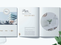 Flyon Brochure Photoshop Template