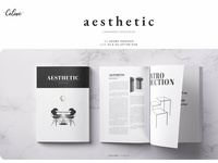 Aesthetic - Catalogue Template