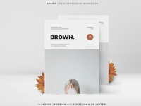 BROWN Creativepreneur Workbook