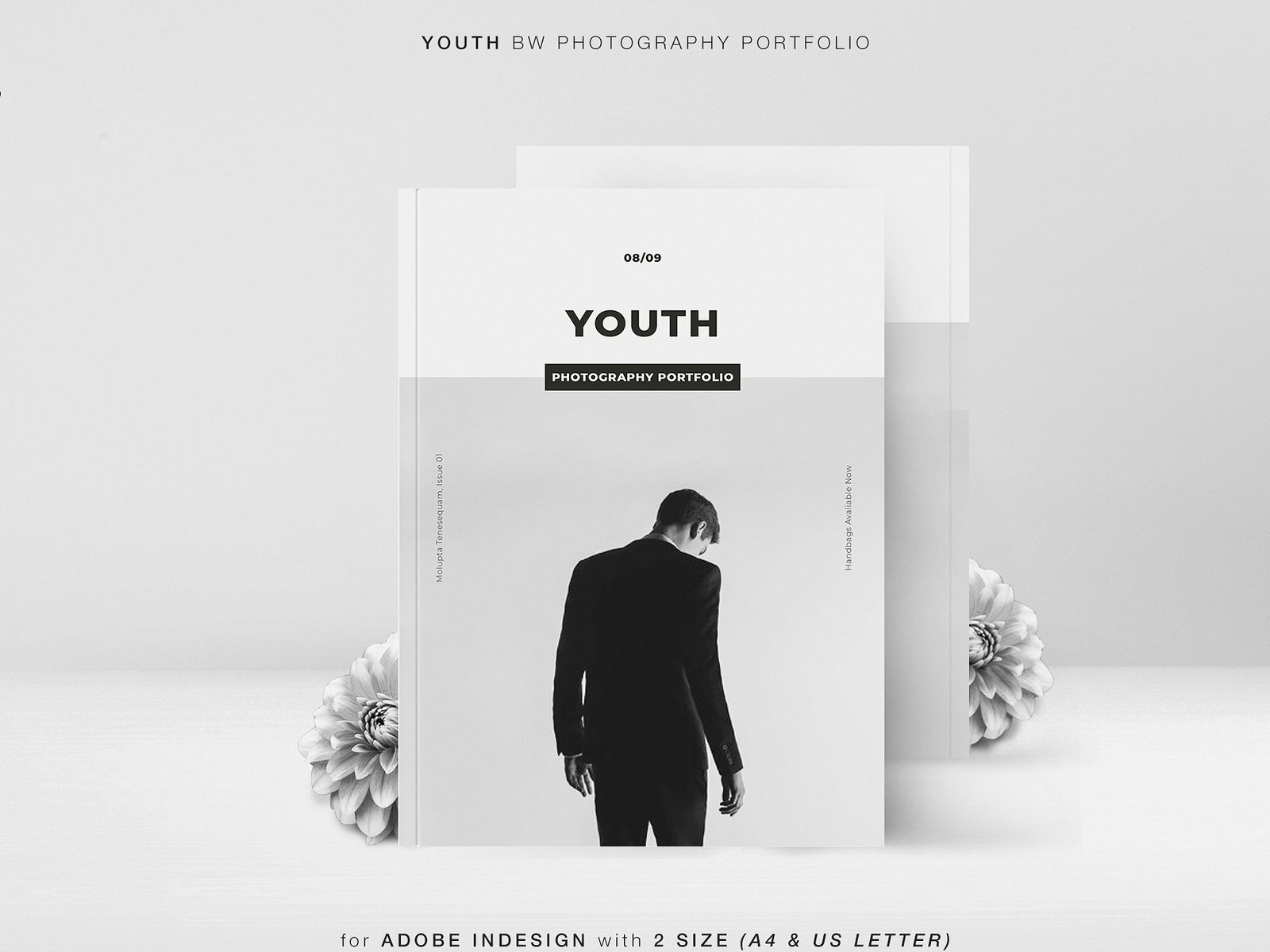 Youth Bw Photography Portfolio By Brochure Design On Dribbble