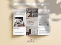 Modern Trifold Design Brochure