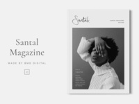 SANTAL Magazine Layout