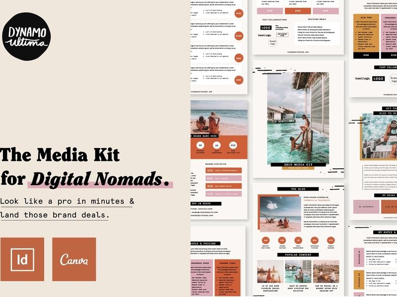 . Media Kit   Press Kit Template by Brochure Design on Dribbble