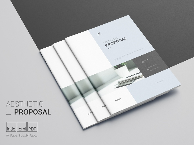 Aesthetic Proposal Template by Brochure Design on Dribbble