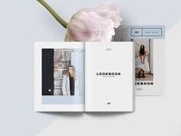 Lookbook / Brochure template - Light