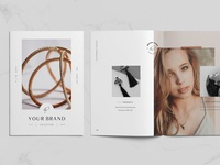 A5 Jewelry / Fashion Lookbook