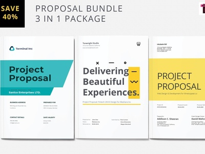Project Proposal Bundle