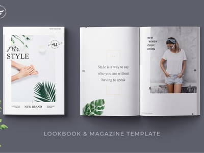 Fashion Magazine Lookbook