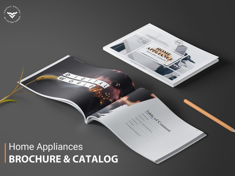 Sign In Home Appliances Brochure By Brochure Design On Dribbble
