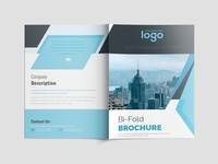 Corporate Bi- Fold Brochure Template