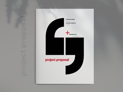 Red Business Proposal