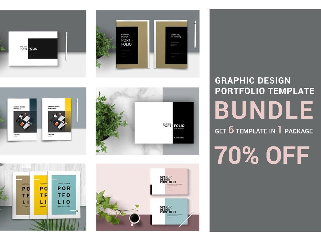 Graphic Design Portfolio - BUNDLE by Brochure Design on Dribbble