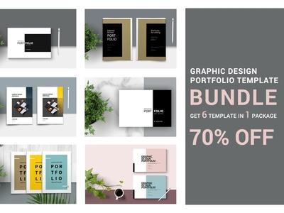 Graphic Design Portfolio - BUNDLE