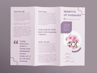 Massage brochure trifold 1 creativemarket