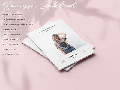 Kanesya - Minimal Lookbook