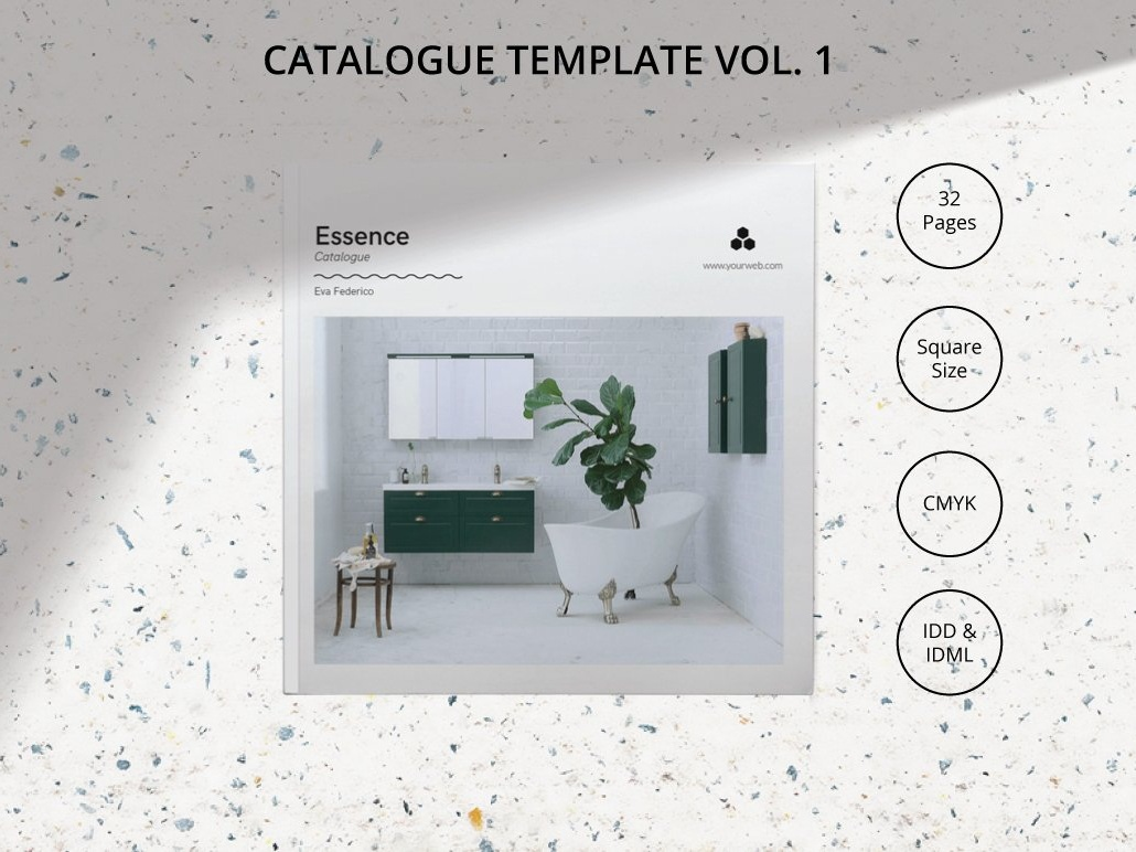 Catalogue Template Vol.1 clothing feminine catalog fashion studio proposal design editorial lookbook indesign clean elegant business modern portfolio magazine branding brochure template catalogue