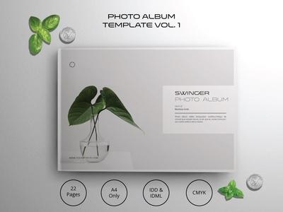Landscape Photo Album Template Vol.