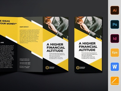 Financial Advisor Brochure Trifold