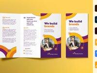 Branding consultant brochure trifold 0 creativemarket
