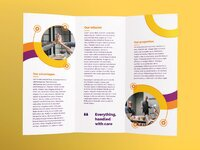 Branding consultant brochure trifold 2 creativemarket