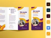 Branding Consultant Brochure Trifold