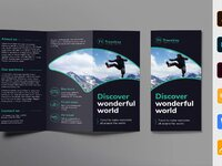 Tours and travels brochure trifold 0 creativemarket