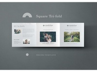 Photography Price List Trifold