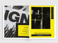 Lancer - A4 Freelancer Brochure