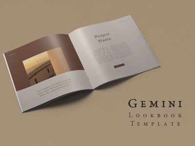 Gemini Lookbook Template