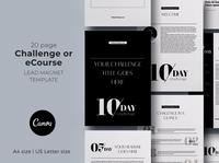 Challenge / Course Canva lead magnet