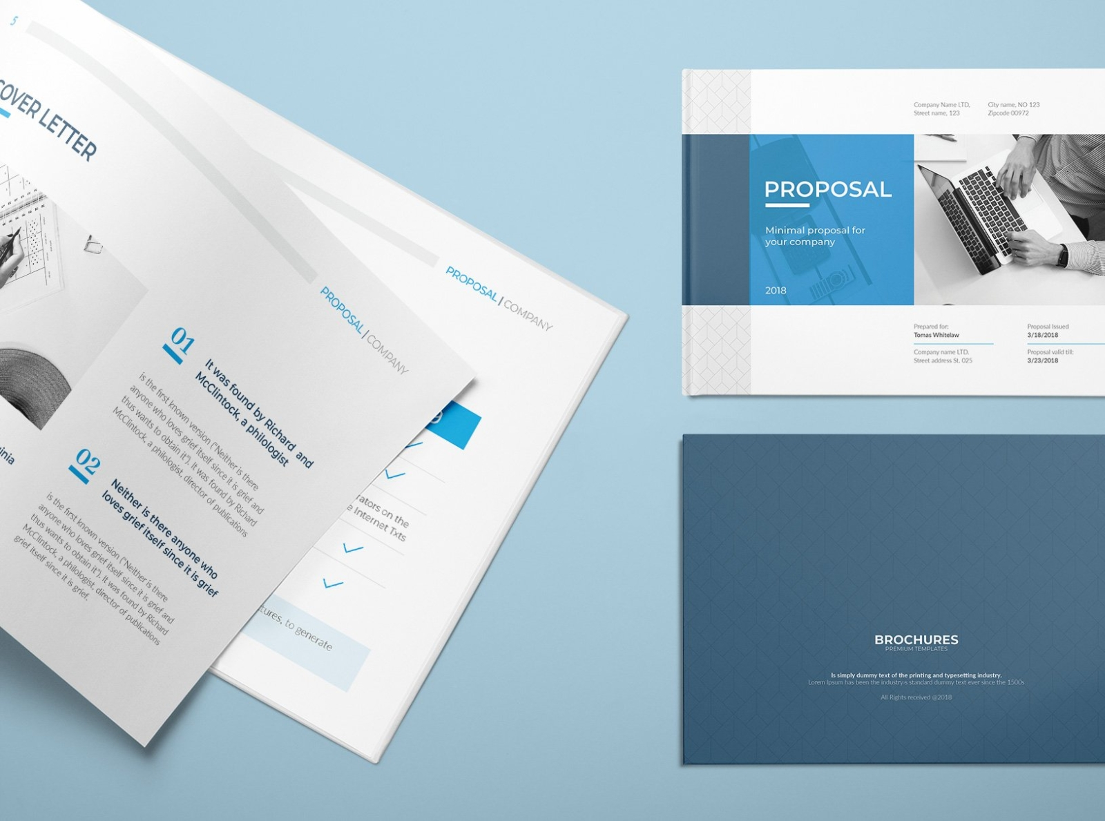 A5 Proposal by Brochure Design on Dribbble