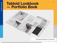 Tabloid Lookbook / Portfolio