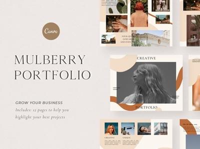 Mulberry Portfolio | Canva