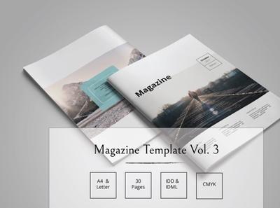 Magazine Template Vol. 3