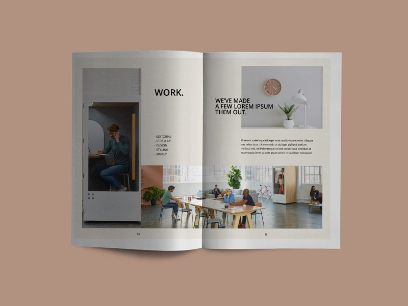 Luxville - Modern living Catalogue by Brochure Design on Dribbble