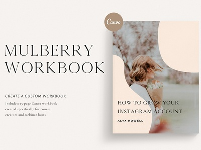 Mulberry Workbook | CANVA