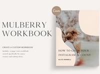 Mulberry Workbook | CANVA