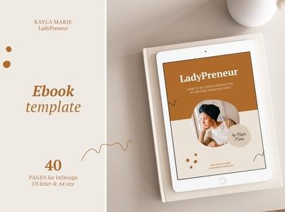 eBook template / InDesign / Kayla
