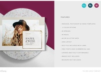 The Grid Layout   Canva, PSD, Indd