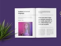 Hexana Fashion Lookbook Catalogue