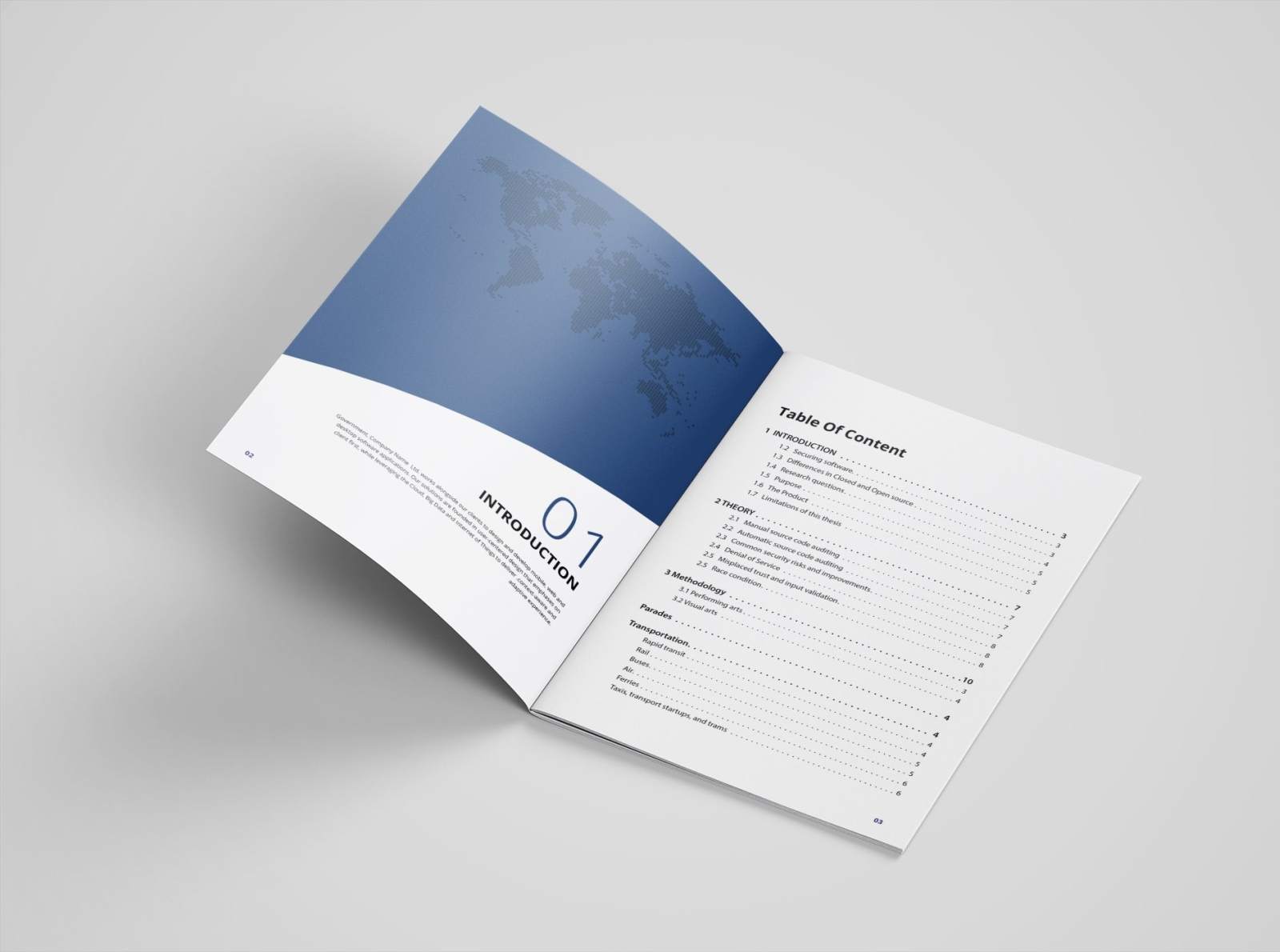 White Paper 30 Pages By Brochure Design On Dribbble