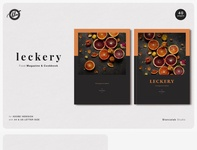 LECKERY Food Magazine & Cookbook
