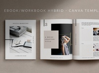 Workbook/eBook Canva Template | Mio