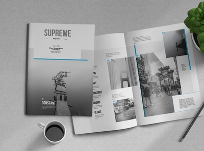 Supreme | Magazine Template