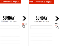 TeuxDeux Week/Calendar Options