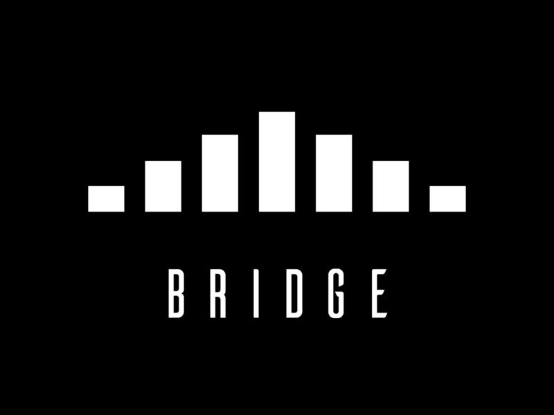 Bridge Logo Design branding typography minimal flat design logo
