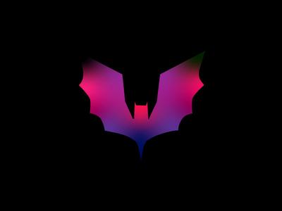 batman flat design icon vector illustration